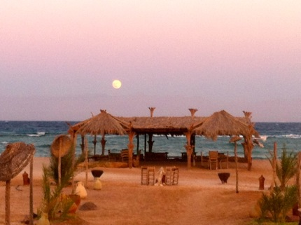Al Tarek Camp moon over south sinai